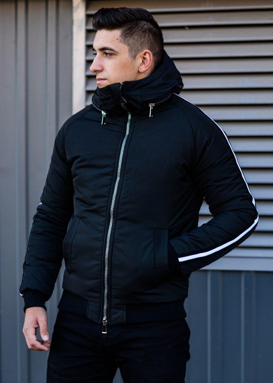 Мужская зимняя куртка Akula black
