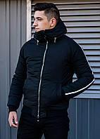 Мужская зимняя куртка Akula black, фото 1