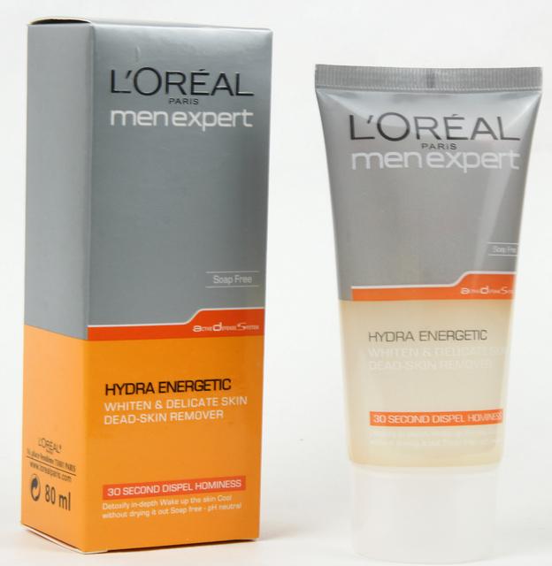 Loreal пілінг для обличчя Hydraenergetic 80 ml MEN