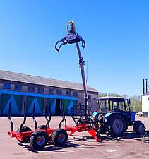 Гидроманипулятор для леса We-S7000 Weimer (Эстония), фото 2