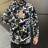 Куртка мужская  ветровка  штормовка  Off White 2 цвета, фото 3