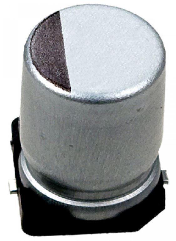 Конденсатор електролітичний 22 uF 16 V SMD. Конденсатор электролитический 22мкф 16В SMD. Серия VT