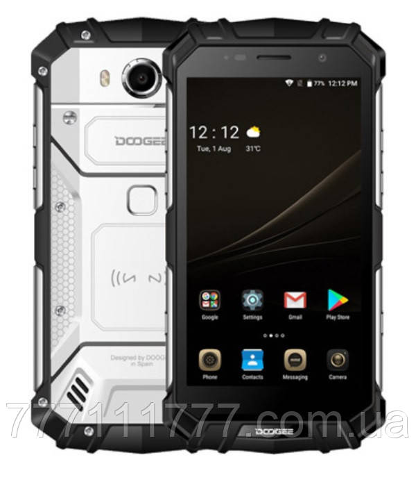 "Неубиваемый смартфон Doogee S60 silver серебро IP68 (2SIM) 5,2"" 6/64ГБ 8/21Мп 3G 4G оригинал Гарантия!"