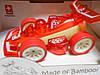 Racer, машинка бамбуковая маленькая