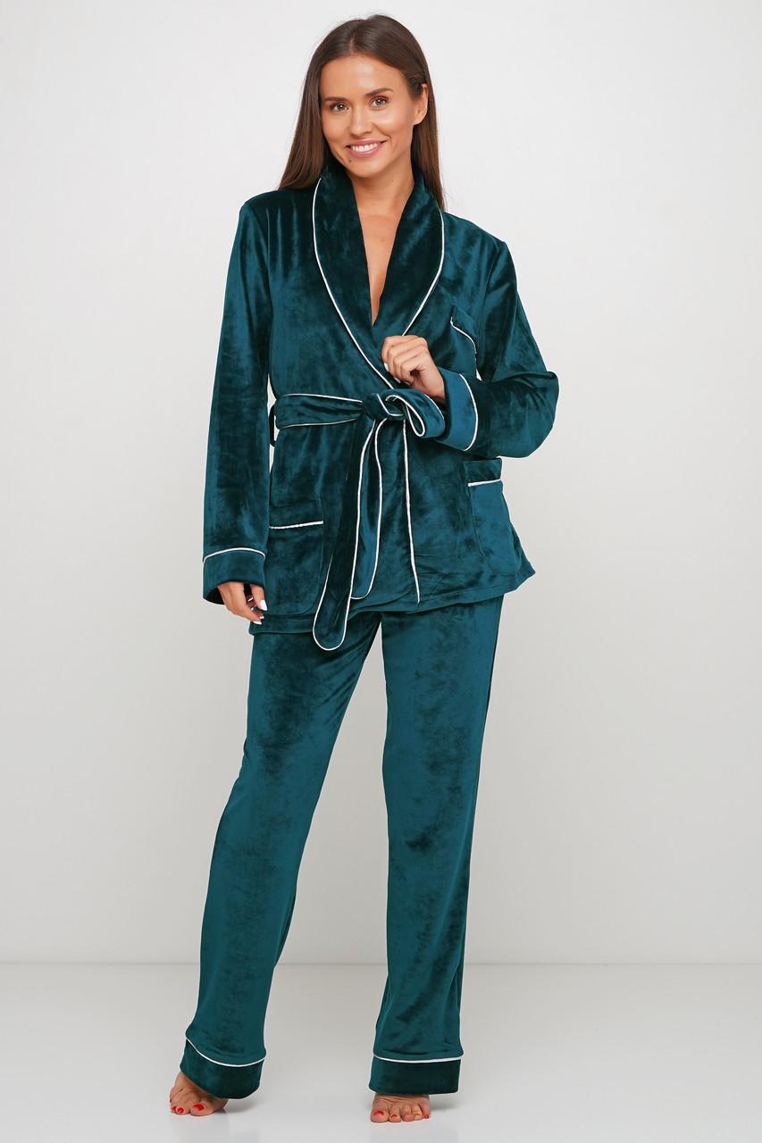 Красивая пижама пиджак и штаны