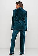 Красивая пижама пиджак и штаны, фото 2