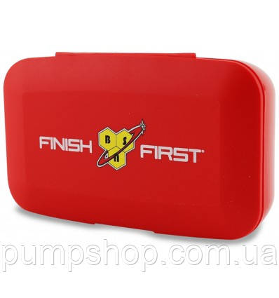 Таблетница BSN Pill-box Finish First красная