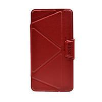 Чехол для Xiaomi Redmi 4X — iMax Book Case  — Red