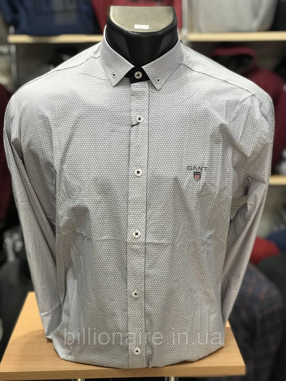 Сорочка Gant репліка молочний