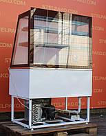 Холодильная кондитерская витрина «Росс Avellina ВПХТ» 1.0 м. (Украина), LED - подсветка , Б/у, фото 1