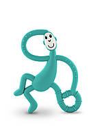 Игрушка - грызунок Маленькая танцующая Обезьянка , цвет зеленый, 10 см,  Matchstick Monkey, фото 1
