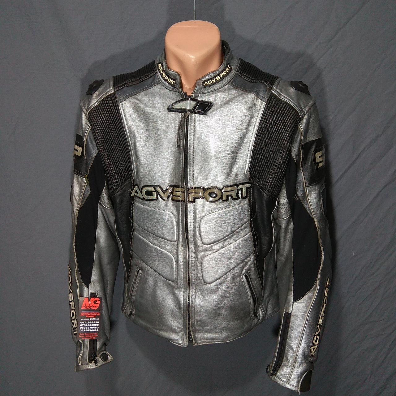 Мотокуртка AGV б/у кожа