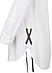 Белая рубашка Agostina Zaps, фото 3