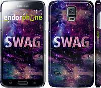"Чехол на Samsung Galaxy S5 Duos SM G900FD Сваг ""1203c-62"""
