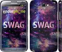 "Чехол на Samsung Galaxy Note 2 N7100 Сваг ""1203c-17"""