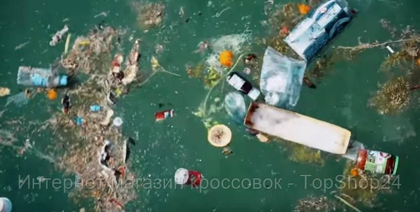 Как Adidas превращает пластиковый мусор в обувь