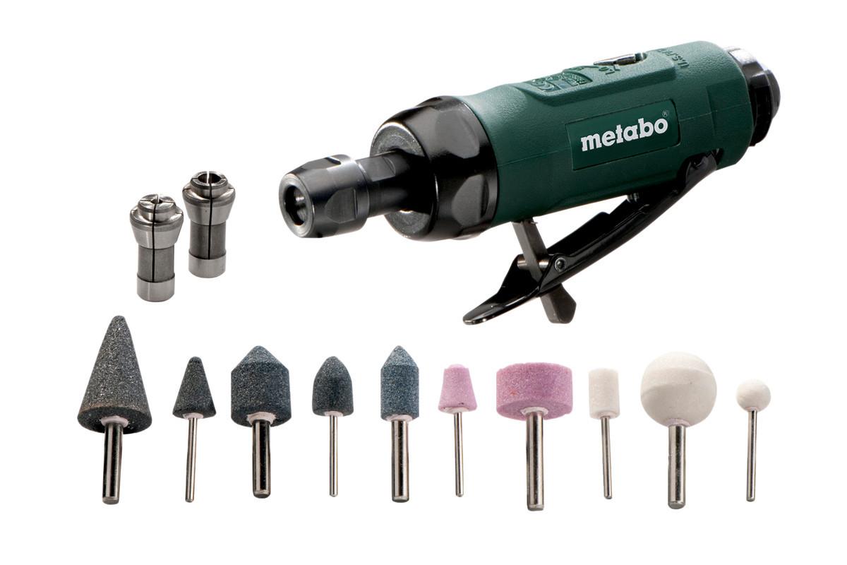 Прямая пневматическая шлифовальная машина Metabo DG 25 Set (604116500)