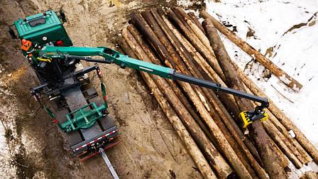 Гидроманипулятор для леса EC-125Z ESSEL (Словакия), фото 2