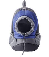 Рюкзак для собак Sport синий