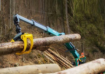 Гидроманипулятор для леса EC-145Z ESSEL (Словакия), фото 2