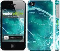"""Чехол на iPhone 4 Океан 2 """"2738c-15"""""""