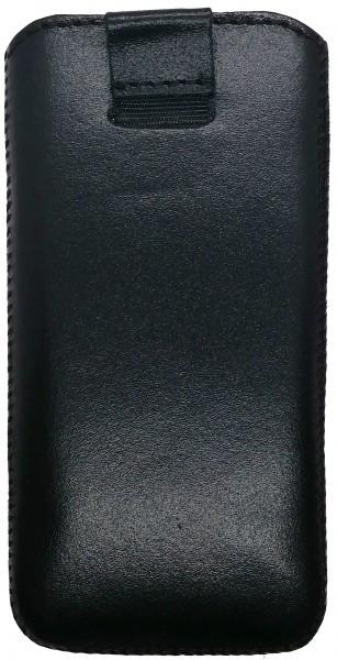 Grand Premium кожаный чехол-вытяжка для Sigma X-style 33 черный