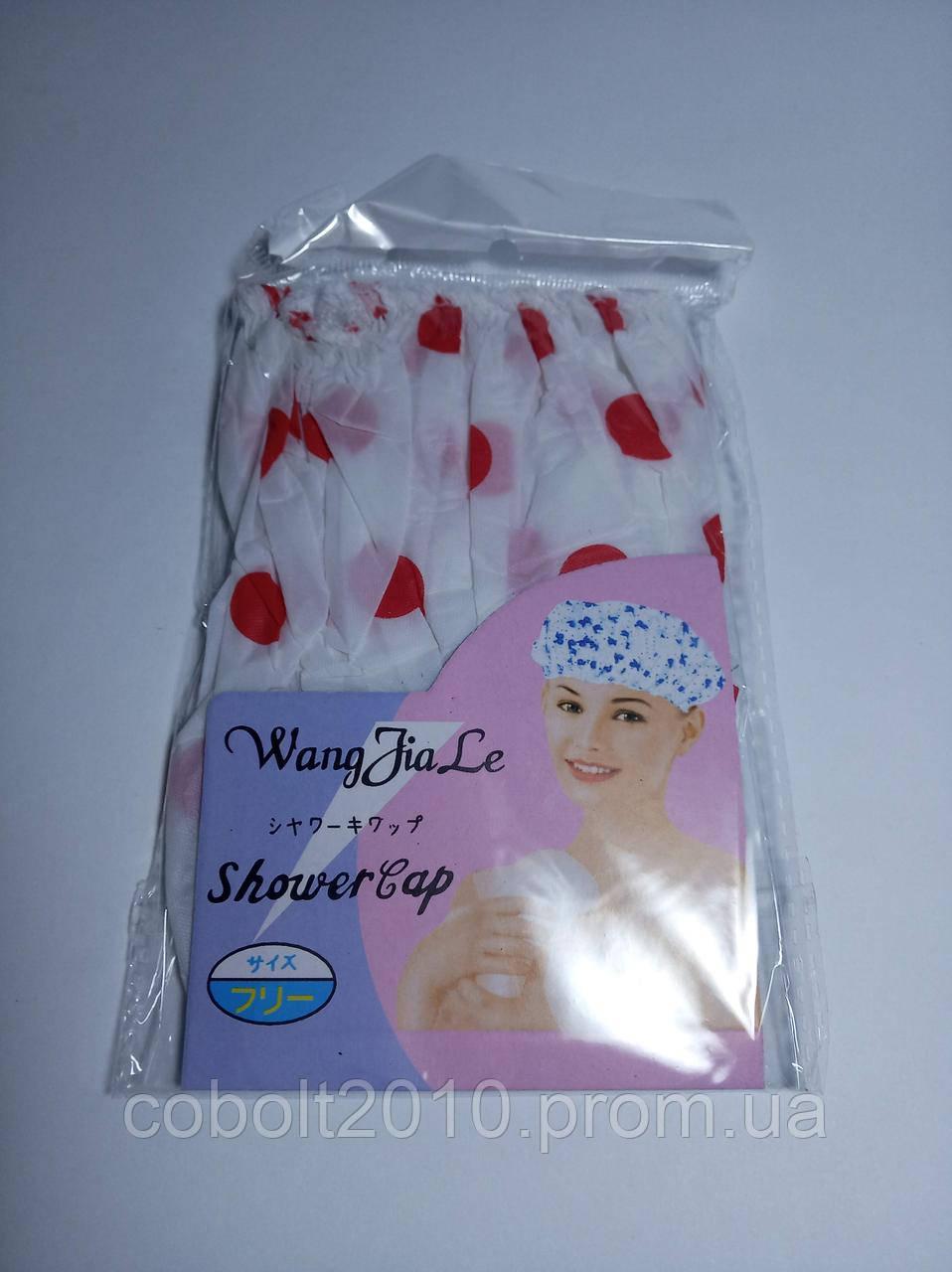 Шапка для душа ShowerCap (полиэтиленовая)