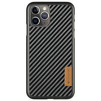 "Карбоновая накладка G-Case Dark series для Apple iPhone 11 Pro Max (6.5"")"