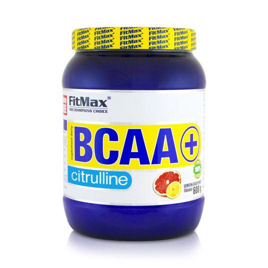 БЦАА FitMax BCAA + Citrulline (600г) с цитрулином фитмакс blackcurrant