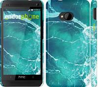 """Чехол на HTC One M7 Океан 2 """"2738c-36"""""""