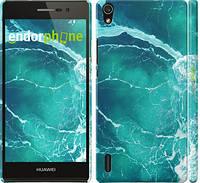 """Чехол на Huawei Ascend P7 Океан 2 """"2738c-49"""""""