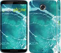 """Чехол на Motorola Nexus 6 Океан 2 """"2738c-67"""""""