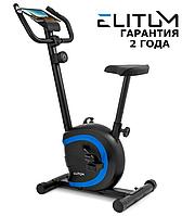 Велотренажер Elitum RX150 Black до 120 кг, Маховик 5 кг