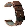 Кожаный ремешок Primo Classic для Garmin Vivoactive 3 / Vivomove HR / Forerunner 245/645 - Coffee