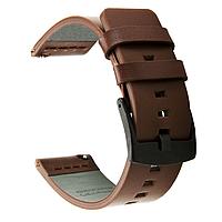 Кожаный ремешок Primo Classic для Garmin Vivoactive 3 / Vivomove HR / Forerunner 245/645 - Coffee, фото 1