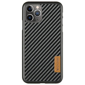 "Карбоновая накладка G-Case Dark series для Apple iPhone 11 Pro (5.8"")"