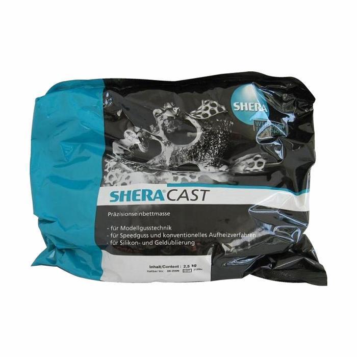 Паковочная масса для бюгельного литья SHERA Cast 8*2,5+ 5 л. SHERALIQUID