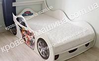 Кровать машина Щенячий Патруль белая