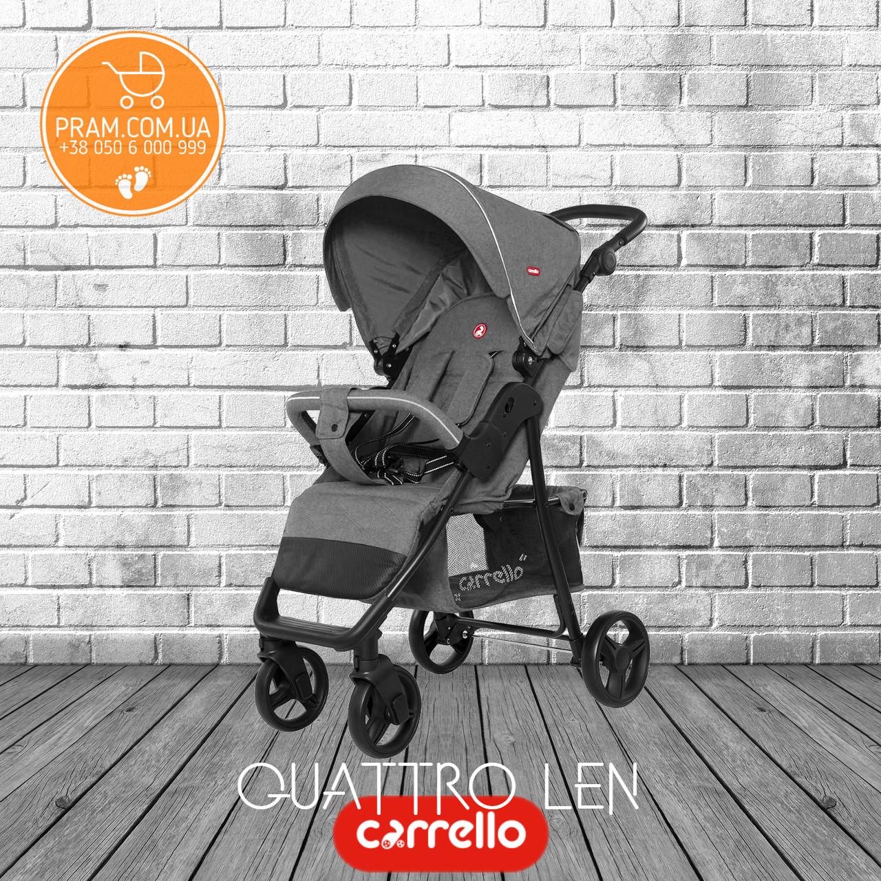 Carrello Quattro Len CRL-8502/2 2019 прогулочная коляска Shark Grey Серый