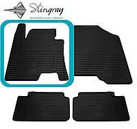 Hyundai i30 2012- Водительский коврик Черный в салон