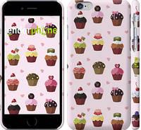 "Чехол на iPhone 6 Тортики ""2327c-45"""
