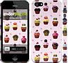 "Чехол на iPhone 5 Тортики ""2327c-18"""