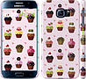"Чехол на Samsung Galaxy S6 G920 Тортики ""2327c-80"""