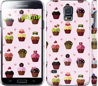 "Чехол на Samsung Galaxy S5 Duos SM G900FD Тортики ""2327c-62"""