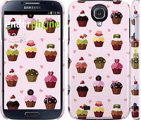 "Чехол на Samsung Galaxy S4 i9500 Тортики ""2327c-13"""