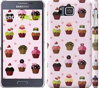 "Чехол на Samsung Galaxy Alpha G850F Тортики ""2327c-65"""