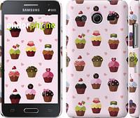 "Чехол на Samsung Galaxy Core 2 G355 Тортики ""2327c-75"""