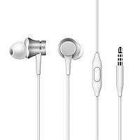Оригинальные наушники вакуумные Xiaomi Mi Piston Fresh Bloom с микрофоном, белые