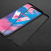Защитное стекло LUX для Samsung Galaxy M30 (M305) Full Сover черный 0,3 мм в упаковке