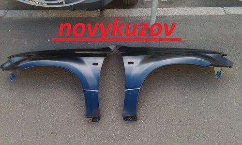 Крыло переднее на Peugeot 206